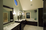 Luxury House Plan Master Bathroom Photo 01 - 013S-0010 | House Plans and More