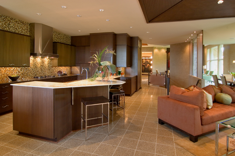 Prairie Style Floor Plan Kitchen Photo 01 013S-0011