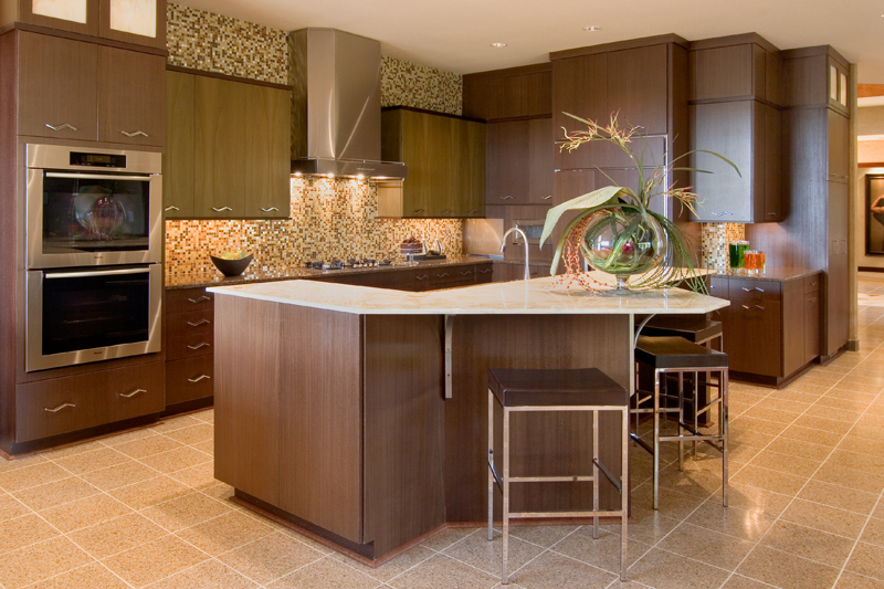 Prairie Style Floor Plan Kitchen Photo 02 013S-0011