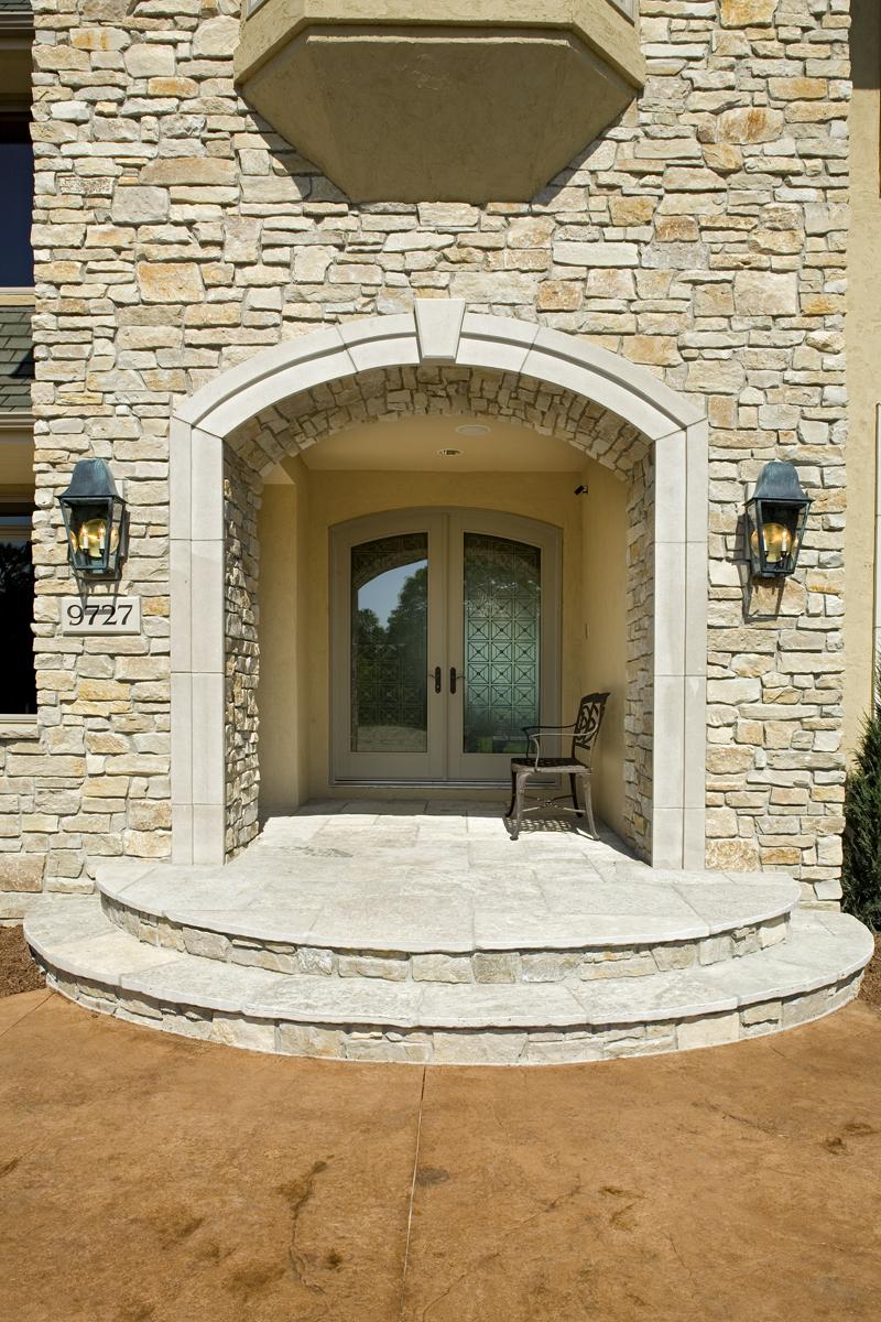 Craftsman House Plan Door Detail Photo - Big Stone Ridge Craftsman Home 013S-0012 | House Plans and More