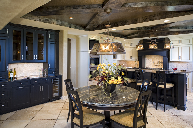 Craftsman House Plan Kitchen Photo 02 - Big Stone Ridge Craftsman Home 013S-0012 | House Plans and More