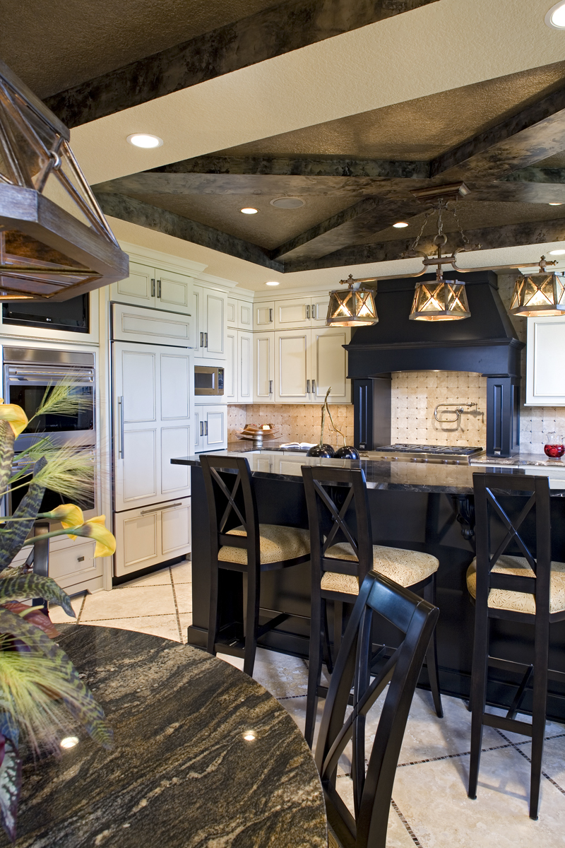 Craftsman House Plan Kitchen Photo 04 - Big Stone Ridge Craftsman Home 013S-0012 | House Plans and More