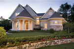 Luxury House Plan Front of Home - 013S-0013 | House Plans and More