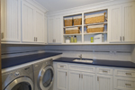 Arts and Crafts House Plan Laundry Room Photo - 013S-0013 | House Plans and More