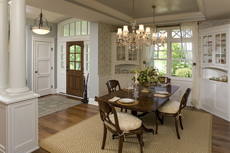 Prairie Style Floor Plan Dining Room Photo 01 013S-0014