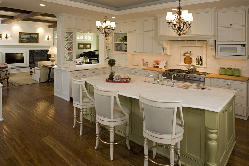 Prairie Style Floor Plan Kitchen Photo 01 013S-0014