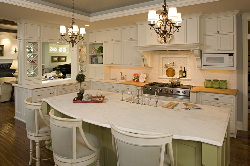 Prairie Style Floor Plan Kitchen Photo 02 013S-0014