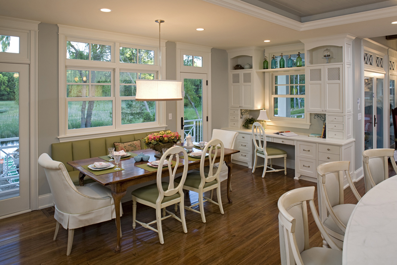 Prairie Style Floor Plan Kitchen Photo 05 013S-0014