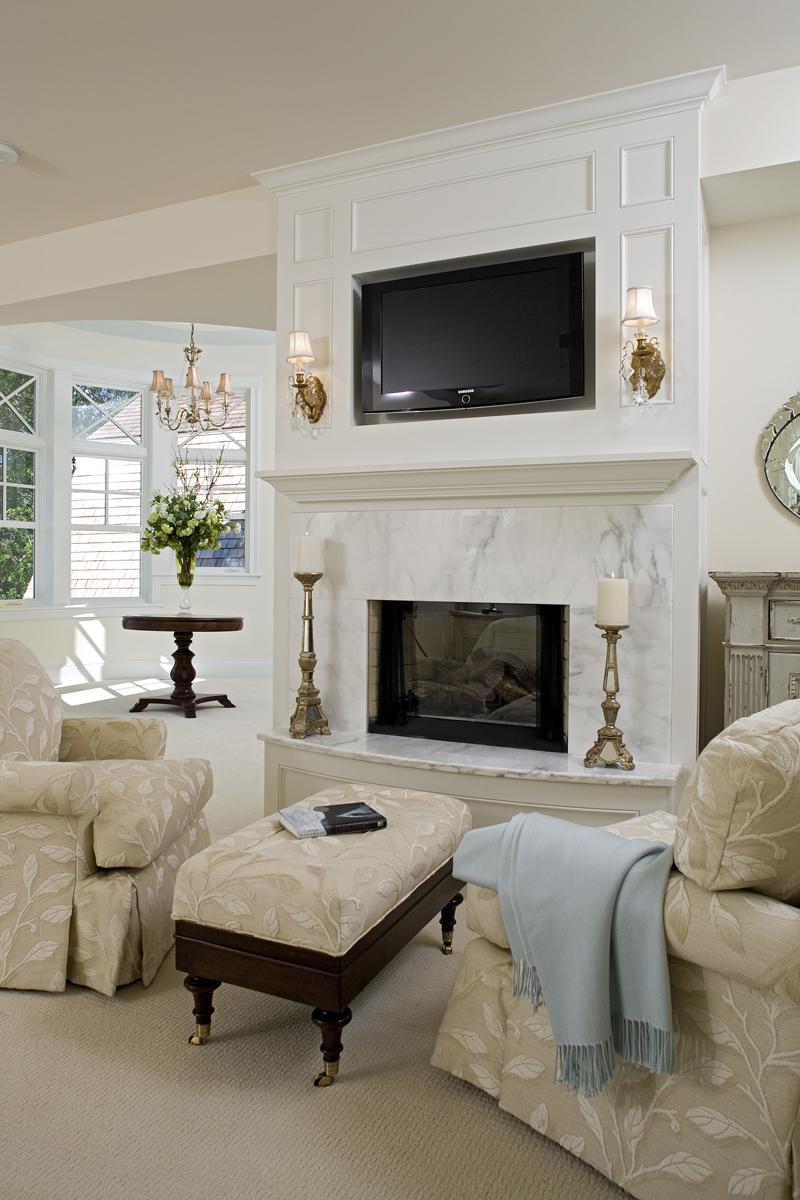 Prairie Style Floor Plan Living Room Photo 02 013S-0014
