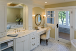 Luxury House Plan Master Bathroom Photo 01 - 013S-0014 | House Plans and More