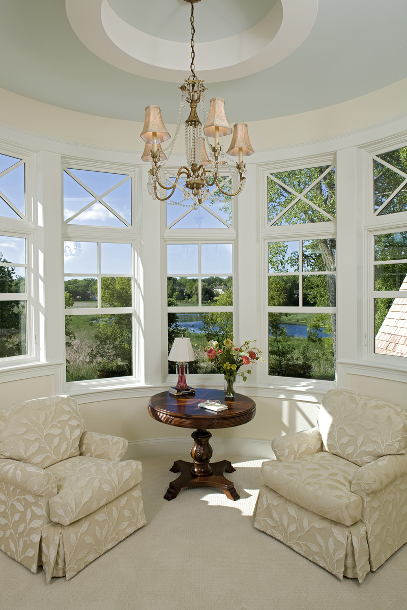 Prairie Style Floor Plan Sitting Area Photo 013S-0014