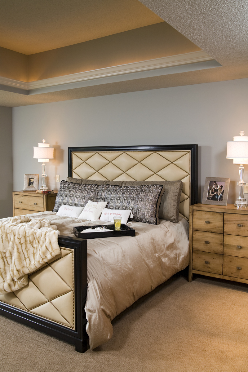 Prairie Style Floor Plan Bedroom Photo 02 013S-0015