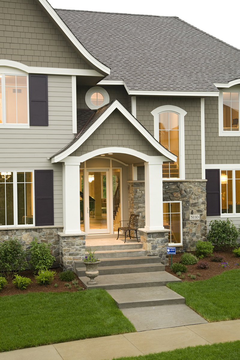 Prairie Style Floor Plan Front Photo 01 013S-0015