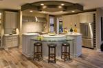 Shingle House Plan Kitchen Photo 02 - 013S-0015 | House Plans and More