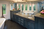 Shingle House Plan Master Bathroom Photo 01 - 013S-0015 | House Plans and More