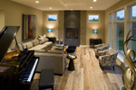 Prairie Style Floor Plan Music Room Photo 01 - 013S-0015 | House Plans and More