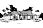 Traditional House Plan Front Image of House - 014D-0002 | House Plans and More