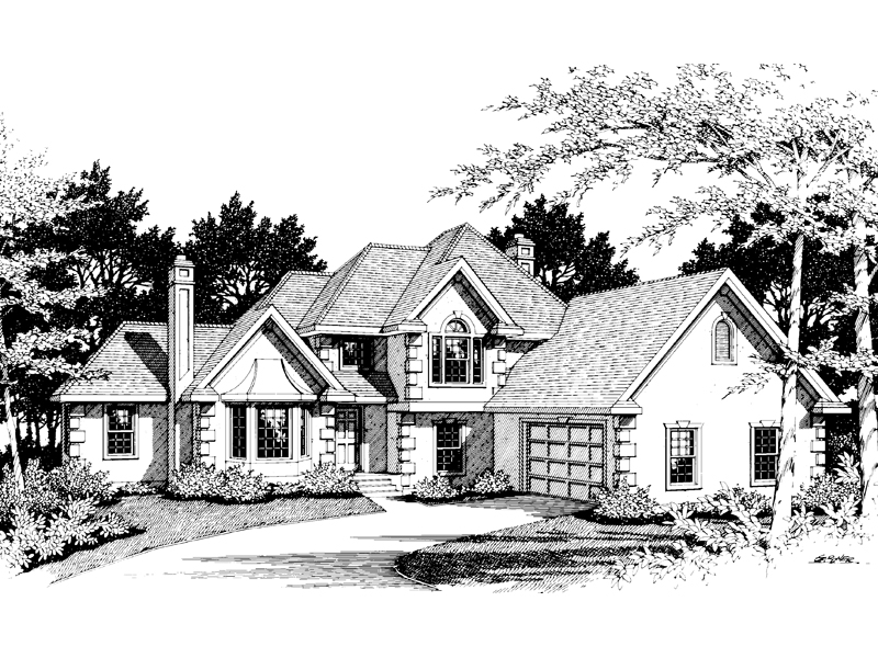 Sunbelt Home Plan Front Image of House - 014D-0013 | House Plans and More