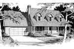 Traditional House Plan Front Image of House - 014D-0014 | House Plans and More