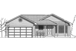 Country House Plan Front Image of House - 015D-0019 | House Plans and More