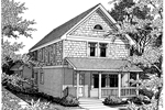 Shingle House Plan Front Image of House - 015D-0021 | House Plans and More