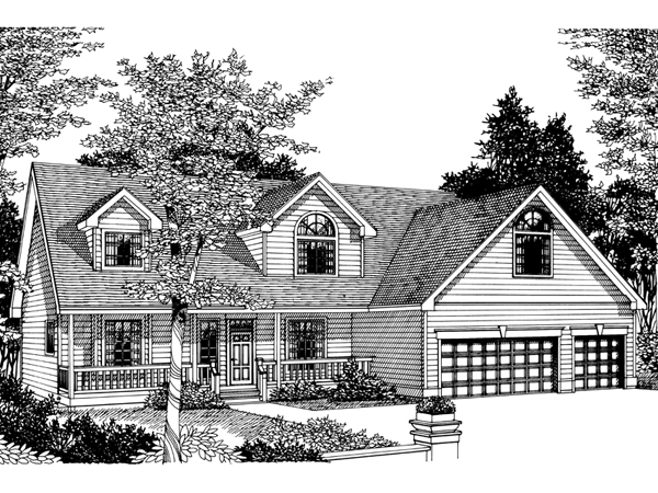 Beaumont New England Style Home Plan 015d 0031 House