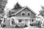 Country House Plan Front Image of House - 015D-0037 | House Plans and More