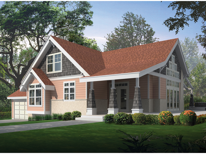 Exciting Craftsman Home