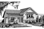 Traditional House Plan Front Image of House - 015D-0046 | House Plans and More