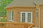 Colonial Floor Plan Deck Photo 01 - 016D-0002 | House Plans and More
