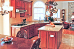 Colonial Floor Plan Kitchen Photo 01 - 016D-0002 | House Plans and More