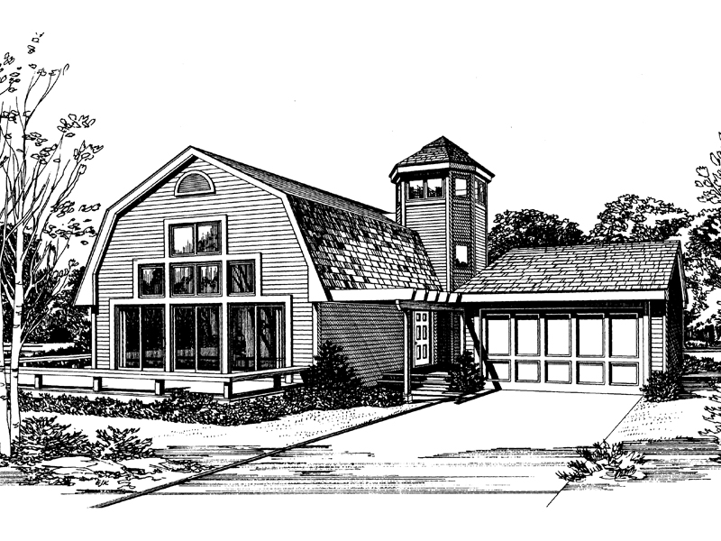 Country Farmhome Appeal With Grand Windows