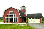 Vacation Home Plan Front Photo 01 - 016D-0014 | House Plans and More