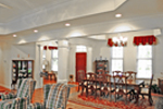 Southern House Plan Dining Room Photo 01 - 016D-0018 | House Plans and More