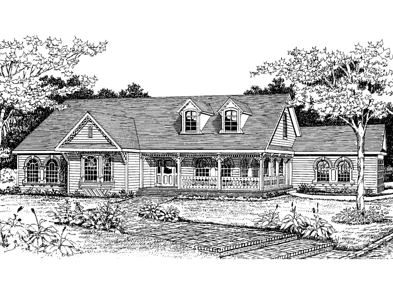 victorian country ranch home plan 016d 0019 house plans