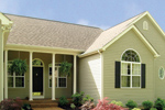 Traditional House Plan Front Photo 01 - 016D-0023 | House Plans and More
