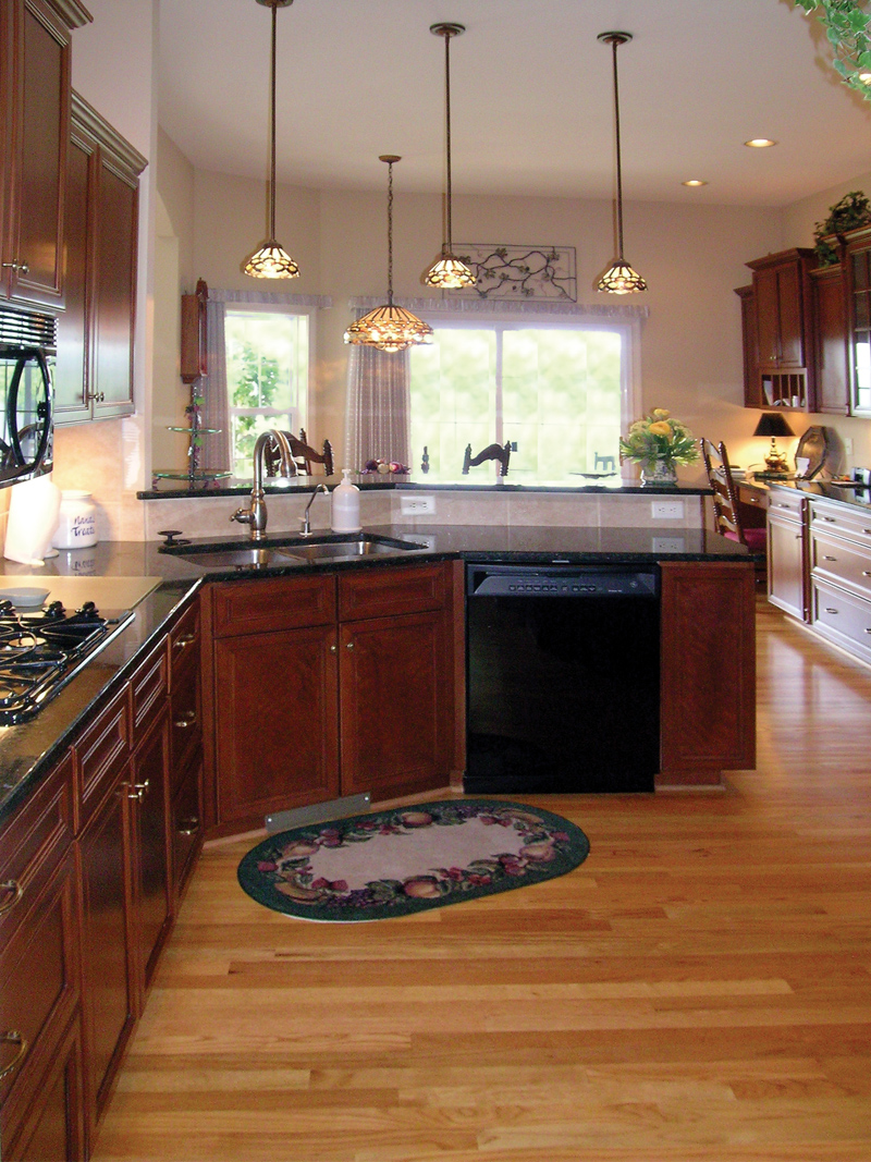 Ranch House Plan Kitchen Photo 01 016D-0023