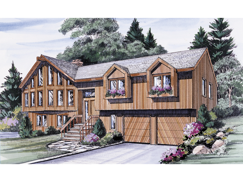 Rustic Split Home With Exceptional Style