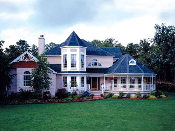 Royalcrest victorian home plan 016d 0038 house plans and for Old fashioned home plans