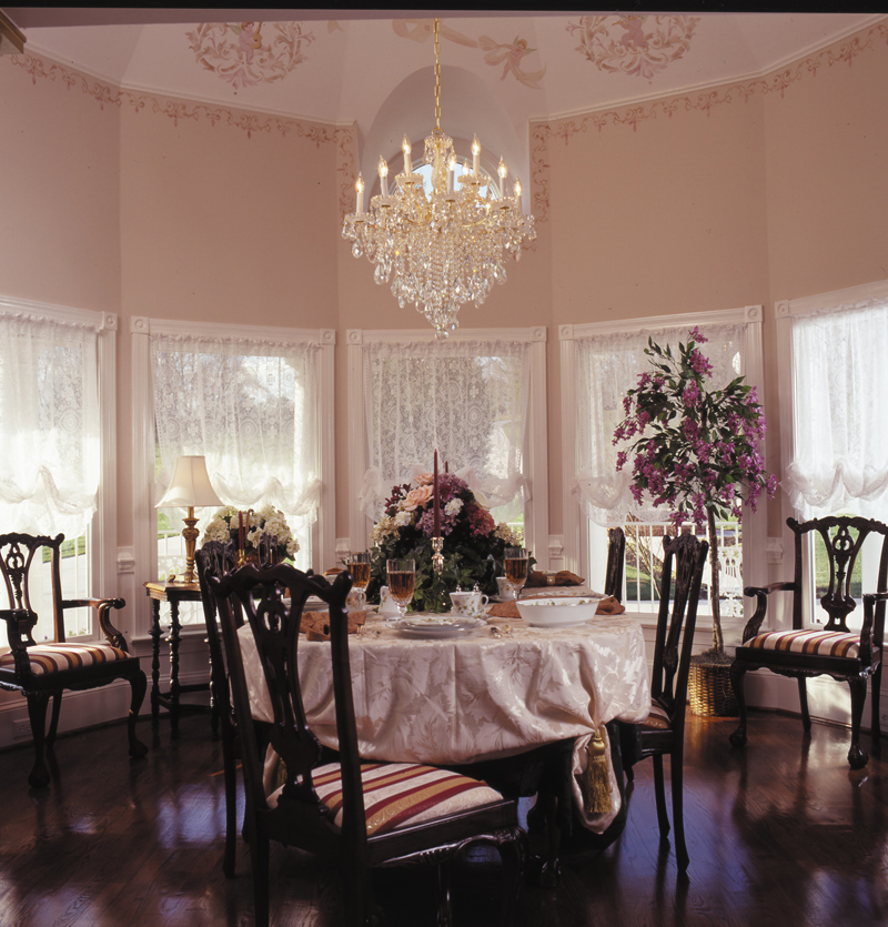Victorian House Plan Dining Room Photo 01 016D-0045