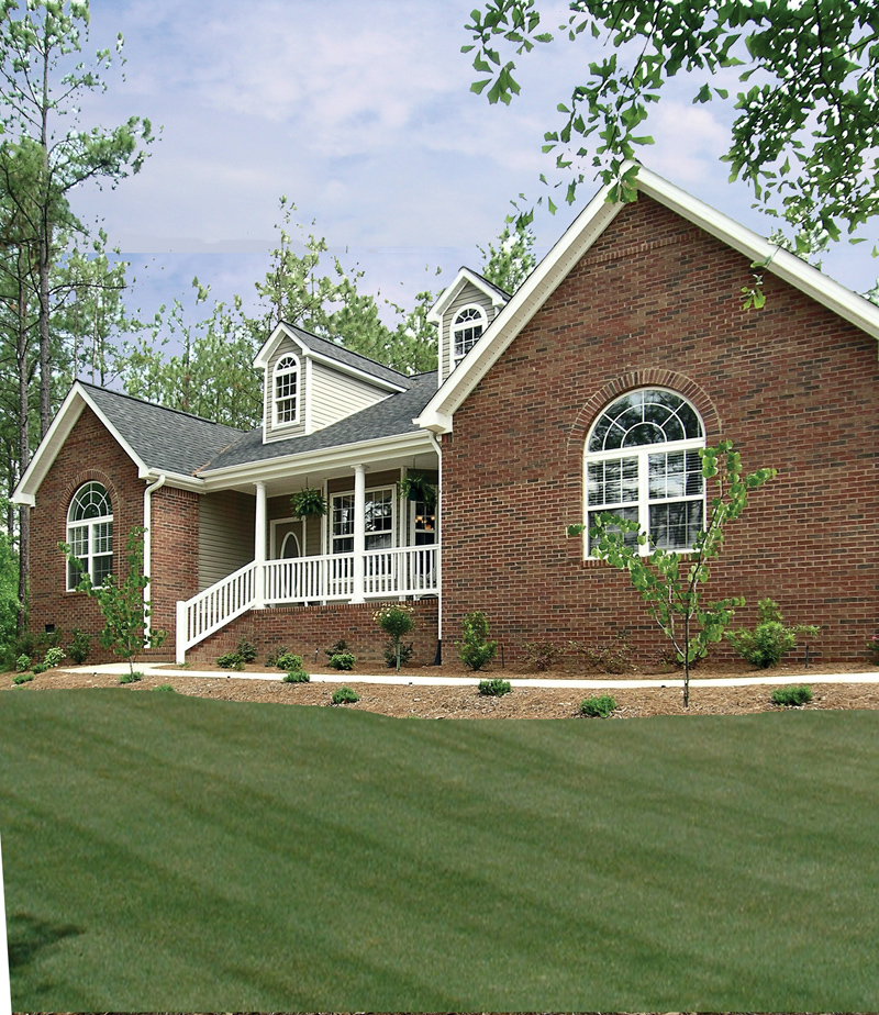 Southern House Plan Front Photo 01 016D-0047