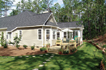 Traditional House Plan Rear Photo 02 - 016D-0047 | House Plans and More