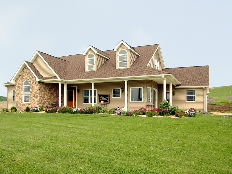 Southern House Plan Front of Home 016D-0049