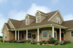 Craftsman House Plan Front Photo 01 - 016D-0049 | House Plans and More