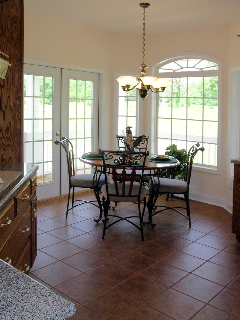 Ranch House Plan Kitchen Photo 01 016D-0049