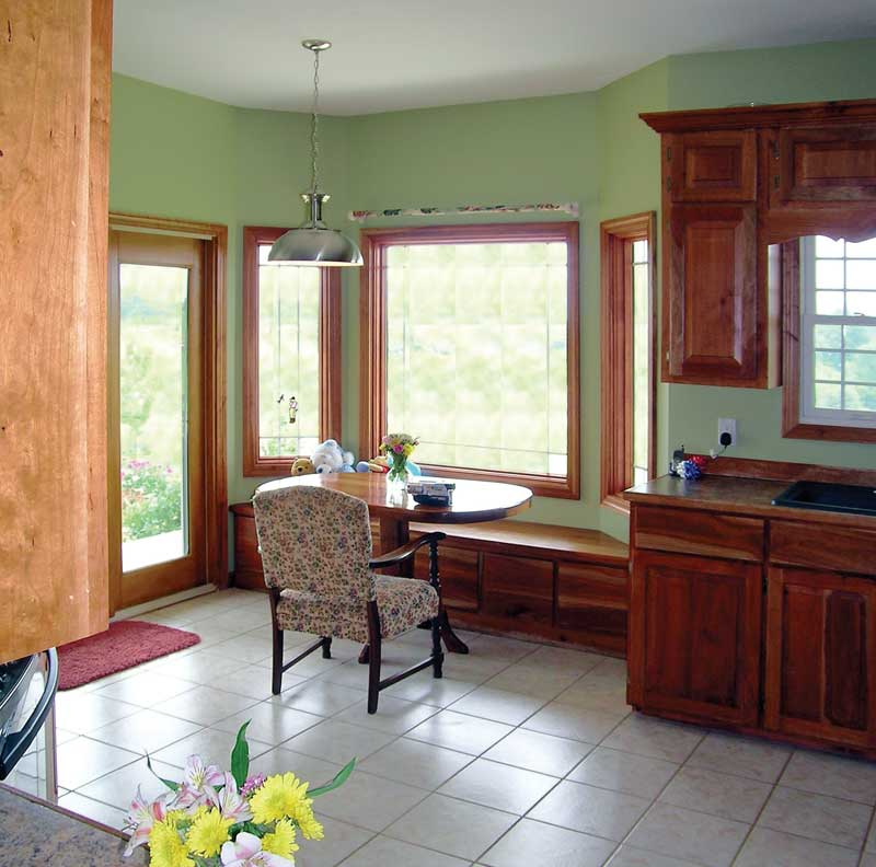 Ranch House Plan Kitchen Photo 03 016D-0049
