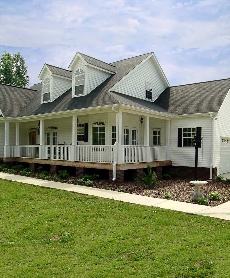 Ranch House Plan Porch Photo 01 - 016D-0049 | House Plans and More