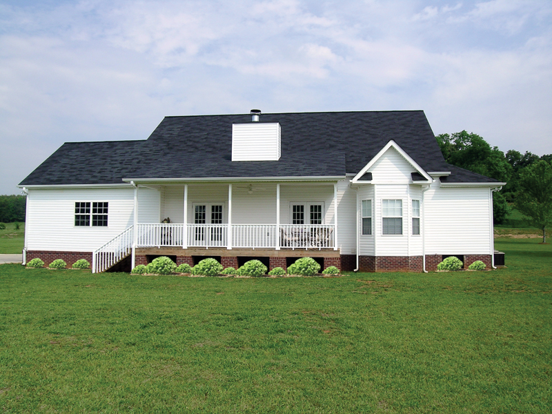 Country House Plan Rear Photo 01 - Callaway Farm Country Home 016D-0049 | House Plans and More