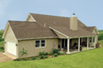 Country House Plan Rear Photo 02 - Callaway Farm Country Home 016D-0049 | House Plans and More