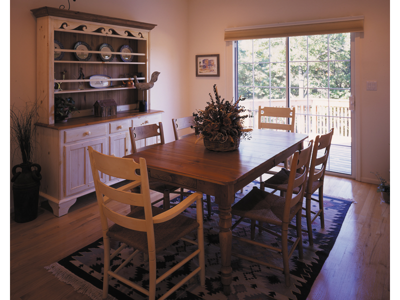 Country House Plan Dining Room Photo 01 016D-0050